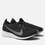 Мужские кроссовки Nike Zoom Fly Flyknit Black/White/Gunsmoke фото- 2