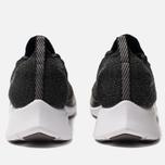 Мужские кроссовки Nike Zoom Fly Flyknit Black/White/Gunsmoke фото- 3