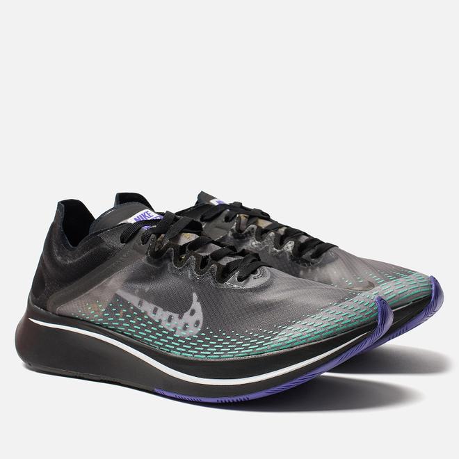 Мужские кроссовки Nike Zoom Fly SP Fast Black/White/Hyper Jade