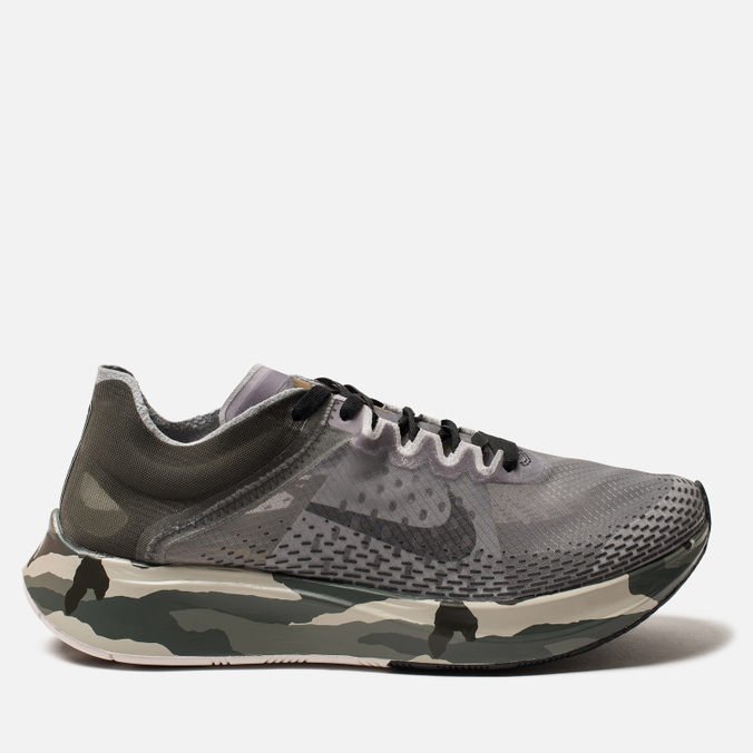 Мужские кроссовки Nike Zoom Fly SP Fast Sequoia/Black/Golden Moss