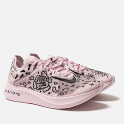 Мужские кроссовки Nike x Nathan Bell Zoom Fly SP Fast White/Black/Pink Foam