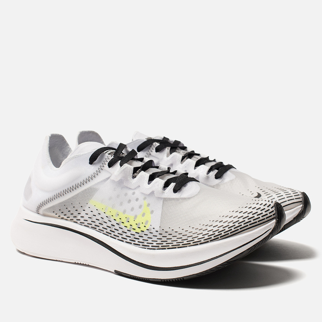 Мужские кроссовки Nike Zoom Fly SP Fast White/Volt/Black