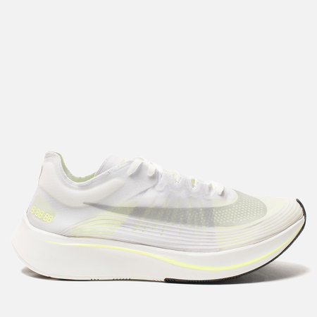 Мужские кроссовки Nike Zoom Fly SP White/Volt Glow/Summit White