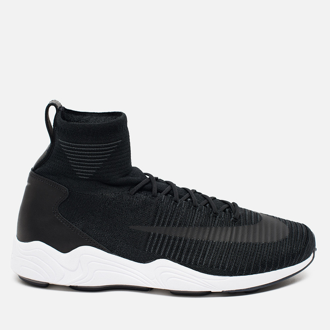 Мужские кроссовки Nike Zoom Mercurial XI Flyknit Black/White/Anthracite