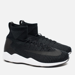 Мужские кроссовки Nike Zoom Mercurial XI Flyknit Black/White/Anthracite фото- 1