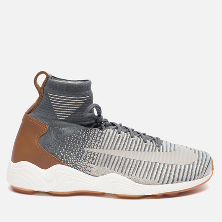 Мужские кроссовки Nike Zoom Mercurial XI Flyknit Dark Grey/Pale Grey/Light Charcoal
