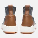 Мужские кроссовки Nike Zoom Mercurial XI Flyknit Dark Grey/Pale Grey/Light Charcoal фото- 3