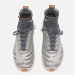 Мужские кроссовки Nike Zoom Mercurial XI Flyknit Dark Grey/Pale Grey/Light Charcoal фото- 4