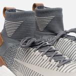 Мужские кроссовки Nike Zoom Mercurial XI Flyknit Dark Grey/Pale Grey/Light Charcoal фото- 5