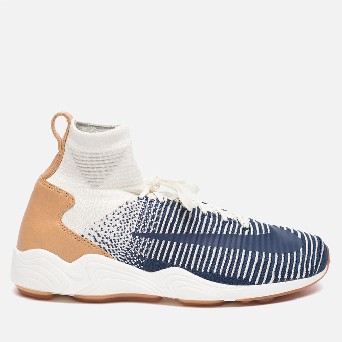 Мужские кроссовки Nike Zoom Mercurial XI Flyknit Sail/College Navy/Pale Grey