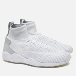 Мужские кроссовки Nike Zoom Mercurial XI Flyknit White/Wolf Grey фото- 1