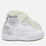 Мужские кроссовки Nike Zoom Mercurial XI Flyknit White/Wolf Grey фото- 2