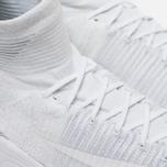 Мужские кроссовки Nike Zoom Mercurial XI Flyknit White/Wolf Grey фото- 3