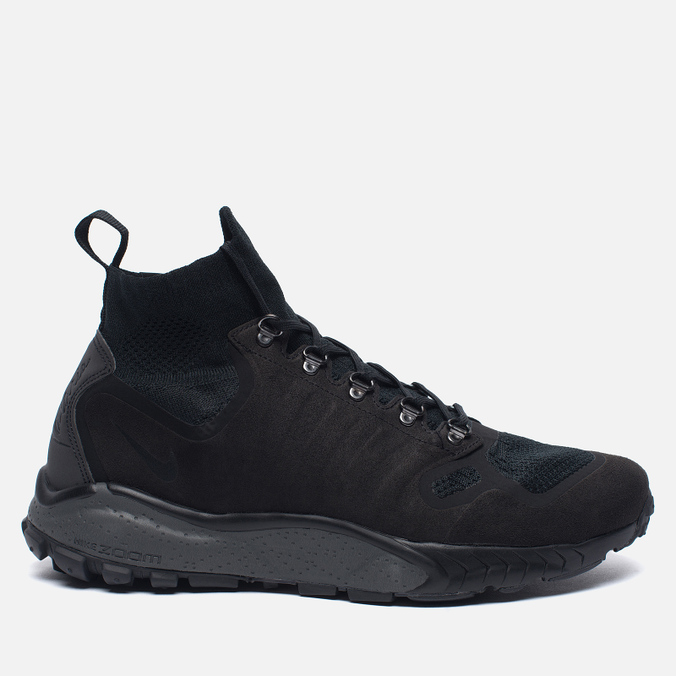 Мужские кроссовки Nike Zoom Talaria Mid Flyknit Black/Dark Grey