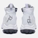 Мужские кроссовки Nike Zoom Talaria Mid Flyknit White/Pure Platinum/Metallic Gold фото- 3