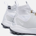 Мужские кроссовки Nike Zoom Talaria Mid Flyknit White/Pure Platinum/Metallic Gold фото- 6