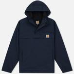 Мужская куртка анорак Carhartt WIP Nimbus 5 Oz Navy фото- 0