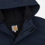 Мужская куртка анорак Carhartt WIP Nimbus 5 Oz Navy фото- 1