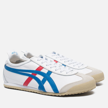 Кроссовки Onitsuka Tiger Mexico 66 White/Blue фото- 1