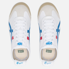 Кроссовки Onitsuka Tiger Mexico 66 White/Blue фото- 4