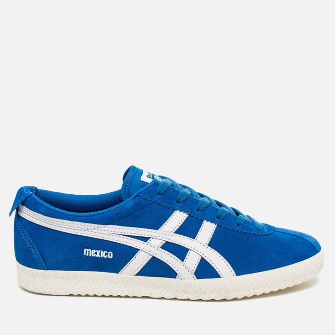 Мужские кроссовки Onitsuka Tiger Mexico Delegation Blue/White