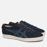 Мужские кроссовки Onitsuka Tiger Mexico Delegation Okayama Denim Pack India Ink/Blue/White фото- 1