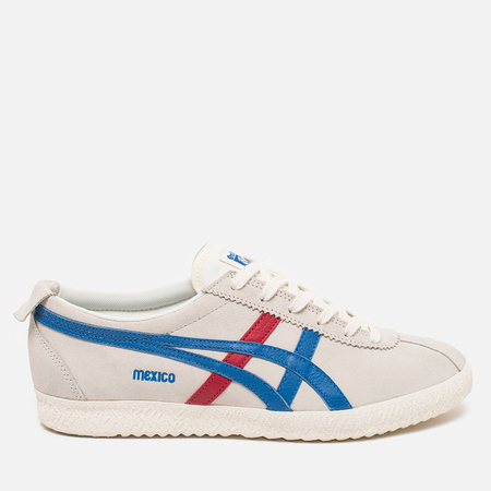 Мужские кроссовки Onitsuka Tiger Mexico Delegation White/Blue