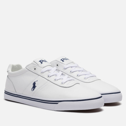 Мужские кроссовки Polo Ralph Lauren Hanford Leather Pure White