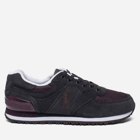 Мужские кроссовки Polo Ralph Lauren Slaton Pony Charcoal Grey/Oxblood