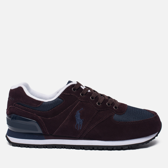 Мужские кроссовки Polo Ralph Lauren Slaton Pony Oxblood/Newport Navy