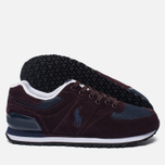 Мужские кроссовки Polo Ralph Lauren Slaton Pony Oxblood/Newport Navy фото- 1
