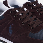 Мужские кроссовки Polo Ralph Lauren Slaton Pony Oxblood/Newport Navy фото- 5