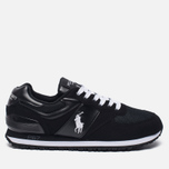 Мужские кроссовки Polo Ralph Lauren Slaton Tech Pony Black/White фото- 0