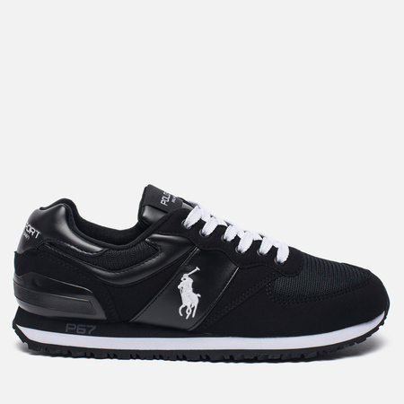 Мужские кроссовки Polo Ralph Lauren Slaton Tech Pony Black/White
