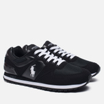 Мужские кроссовки Polo Ralph Lauren Slaton Tech Pony Black/White фото- 2