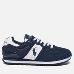Мужские кроссовки Polo Ralph Lauren Slaton Tech Pony Navy/White фото- 0
