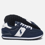 Мужские кроссовки Polo Ralph Lauren Slaton Tech Pony Navy/White фото- 1