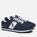 Мужские кроссовки Polo Ralph Lauren Slaton Tech Pony Navy/White фото- 2