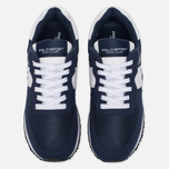 Мужские кроссовки Polo Ralph Lauren Slaton Tech Pony Navy/White фото- 4