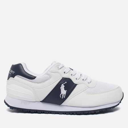 Мужские кроссовки Polo Ralph Lauren Slaton Tech Pony White/Newport Navy