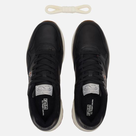 Мужские кроссовки Polo Ralph Lauren Trackster Pony Leather Black