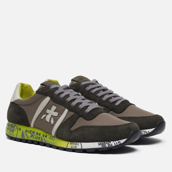 Мужские кроссовки Premiata Eric 3290 Brown