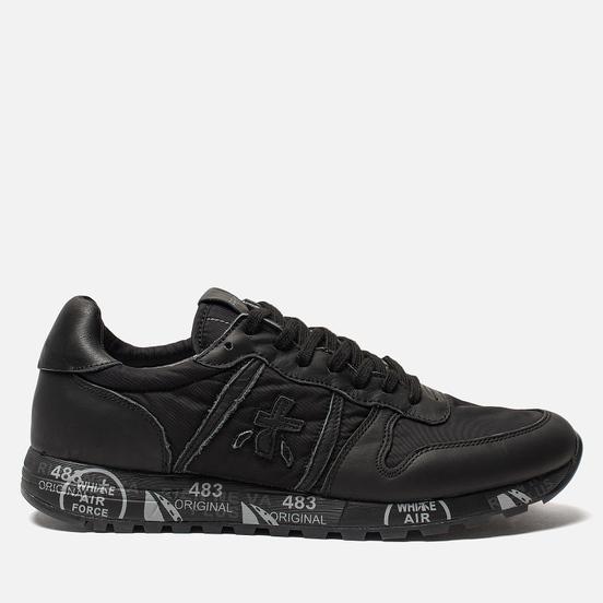 Мужские кроссовки Premiata Eric 3296 Full Black