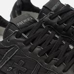 Мужские кроссовки Premiata Eric 3296 Full Black фото- 6