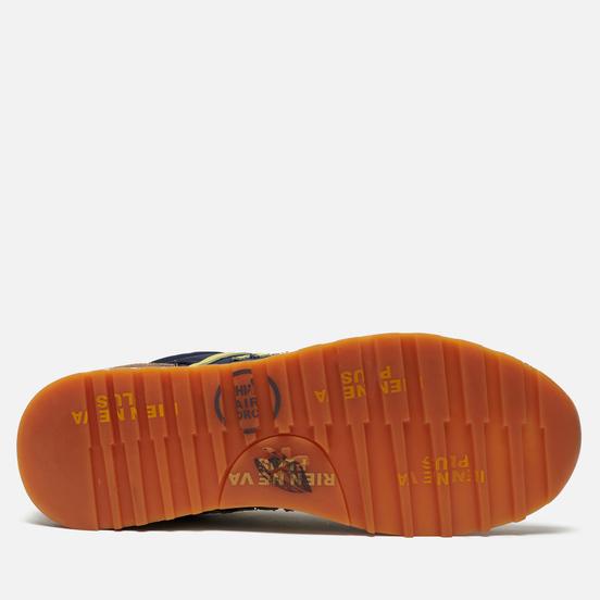 Мужские кроссовки Premiata Eric 4665 Navy/Grey