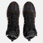 Мужские кроссовки Premiata Jeff 4305 Brown/Blue фото- 5