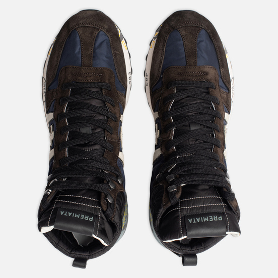 Мужские кроссовки Premiata Jeff 4305 Brown/Blue