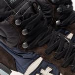 Мужские кроссовки Premiata Jeff 4305 Brown/Blue фото- 6