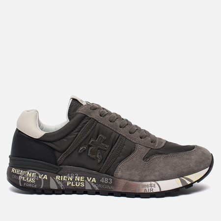Мужские кроссовки Premiata Lander 2481 Grey