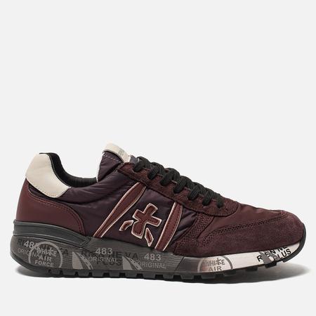 Мужские кроссовки Premiata Lander 3246 Burgundy